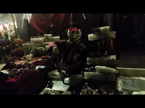 """Tandoori Bangle maker at souq waqif Qatar"