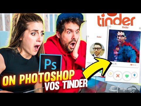 ON PHOTOSHOP VOS PROFILS TINDER ft. HUBY   DENYZEE