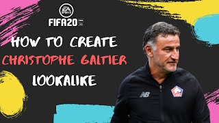 How to create christophe galtier for fifa 20 career modeplease like and subscribeif subscribed, leave a comment on who you would see created virt...