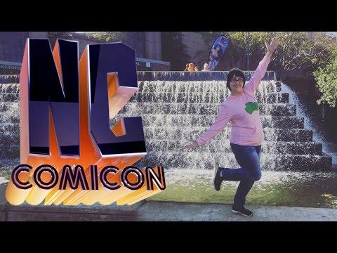 Saturday at NC Comic Con ::VLOG::