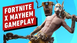 Fortnite [PS4] | Fortnite x Mayhem | New Borderlands Psycho Skin Pack! | Gifting BP@3k Subs