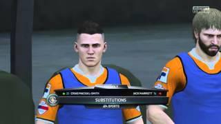 PETERBOROUGH V LUTON TOWN FA CUP FIFA 16