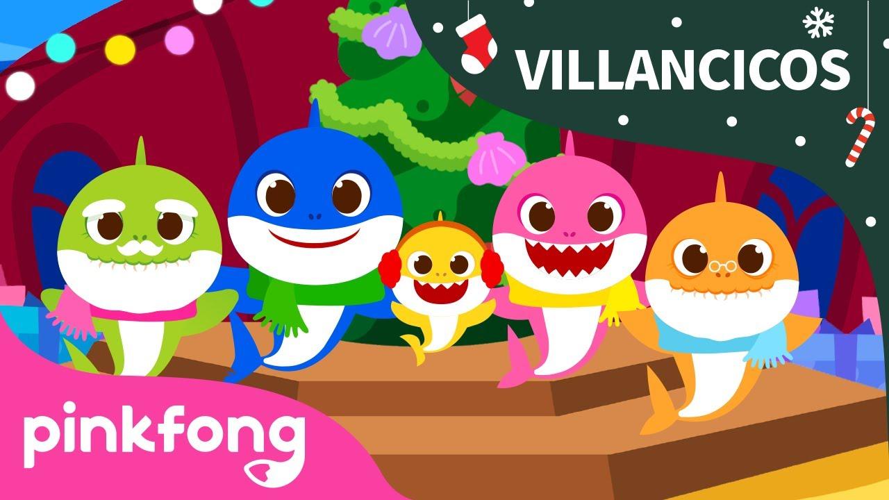 Navidad con la Familia Tiburón | Tiburón Bebé | Villancicos | Pinkfong @Baby Shark en Español