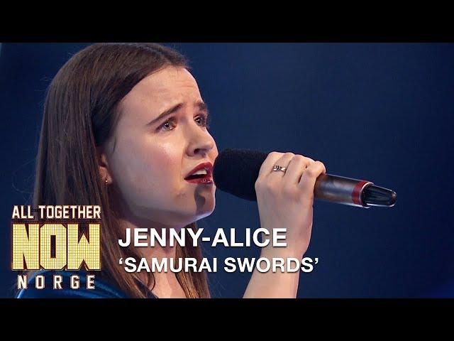 All Together Now Norge | Jenny-Alice fremfører Samurai Swords av Highasakite | TVNorge