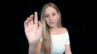 ASMR Mouth Sounds & Slow Hand Movements thumbnail