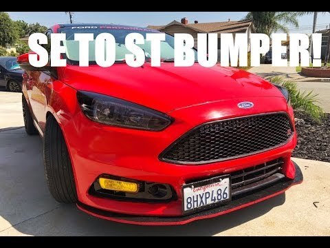 2016 Ford Focus SE Bumper Conversion To ST