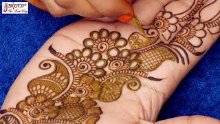 Beautiful Floral Mehndi Design for Hands | Easy Mehndi Design for Hands by Sonia Goyal #122