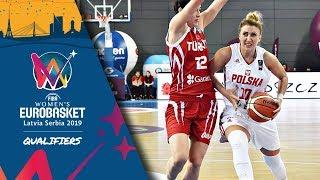Poland v Turkey - Full Game - FIBA Women's EuroBasket 2019 - Qualifiers 2019