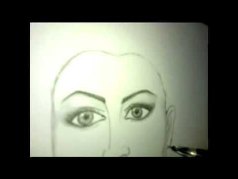 تعلم كيفية رسم الوجه بالرصاص خطوة بخطوة - YouTube: http://www.youtube.com/watch?v=4NkTUy204-Y