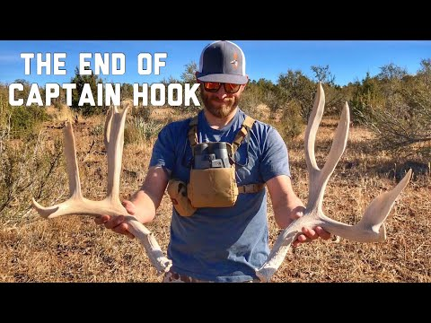 "The End Of Captain Hook!! ""INQUEST 2018"" Shed Hunting Antler Trader"