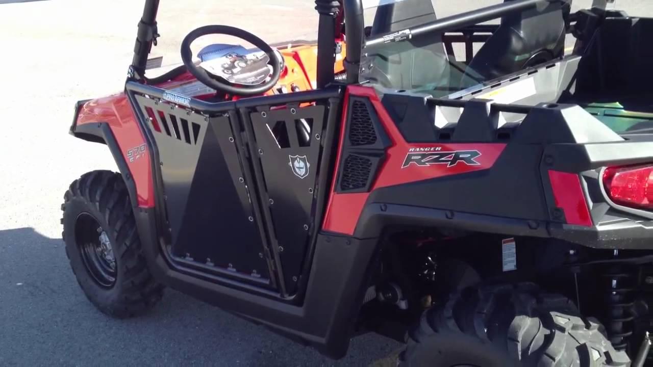 2012 Polaris Ranger RZR 570 with Pro Armor Doors Top and Windshield - YouTube & 2012 Polaris Ranger RZR 570 with Pro Armor Doors Top and Windshield ...