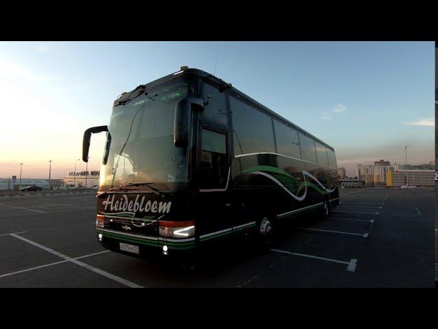 Заказ туристического автобуса на 49 мест Ванхол Vanholl. Пассажирские перевозки. Аренда автобуса.