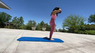 10 Minute Sun-Salutation Yoga warm up