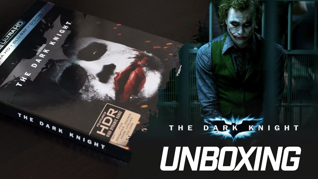 The Dark Knight Unboxing 4k Youtube