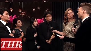 2020 Golden Globes Official Aftershow with Winner Bong Joon Ho | THR