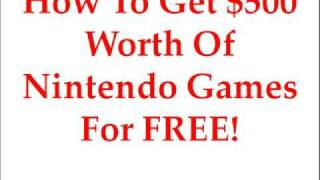 Free Nintendo Games | Free DS Games | Discover How To Get Them Here!