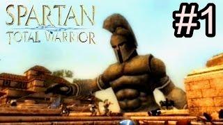 """Spartan Total Warrior (Modo Veterano) - Detonado - PS2 - """"Enfrentando o Talos"""" - (01)"""