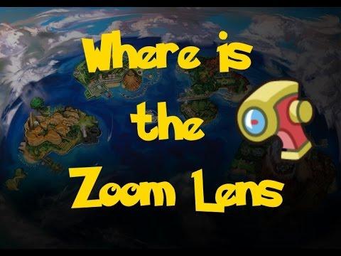 Where Is: The Zoom Lens (Pokemon Sun/Moon)