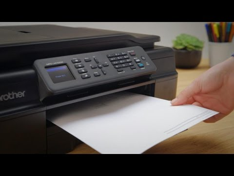 How to reset the WIFI connection on your Brother printer - YouTube