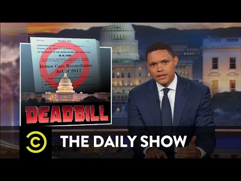 Thumbnail: How the Republican Health Care Bill Came and Went: The Daily Show