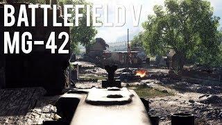 Одна игра с MG-42 — Battlefield V