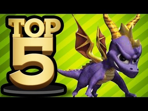 TOP 5 DRAGONS IN VIDEO GAMES
