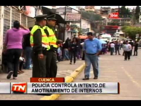 Policía controla intento de amonitamiento de internos