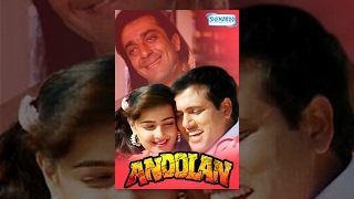 Andolan - Hindi Full Movies - Sanjay Dutt - Govinda - Mamta Kulkarni  - Bollywood Popular Movie