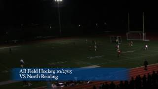 Acton Boxborough Varsity Field Hockey vs North Reading 10/27/15