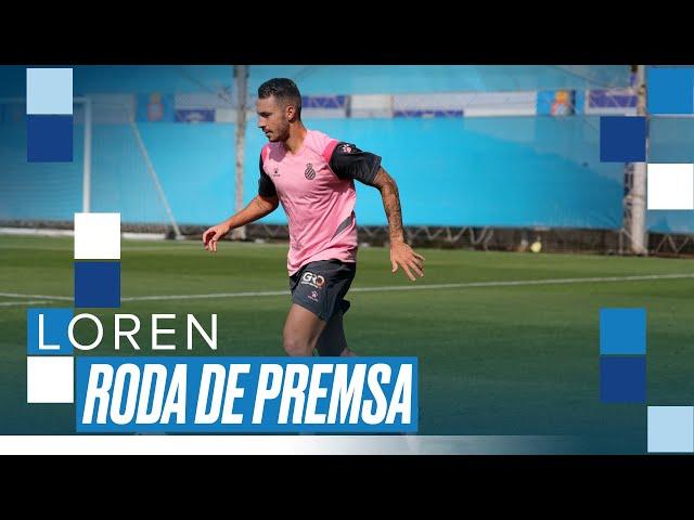 🎙 #EspanyolLIVE   Roda de premsa de Loren Morón