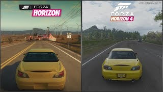 Forza Horizon vs Forza Horizon 4 - 2003 Honda S2000 Sound Comparison