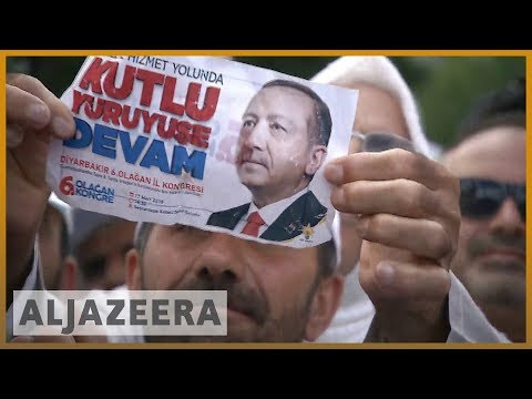 🇹🇷 Turkey's Erdogan seeks voter support in Diyarbakir   Al Jazeera English