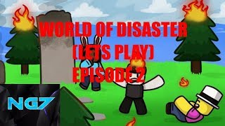 mondo del disastro ROBLOX (LETS PLAY) E2