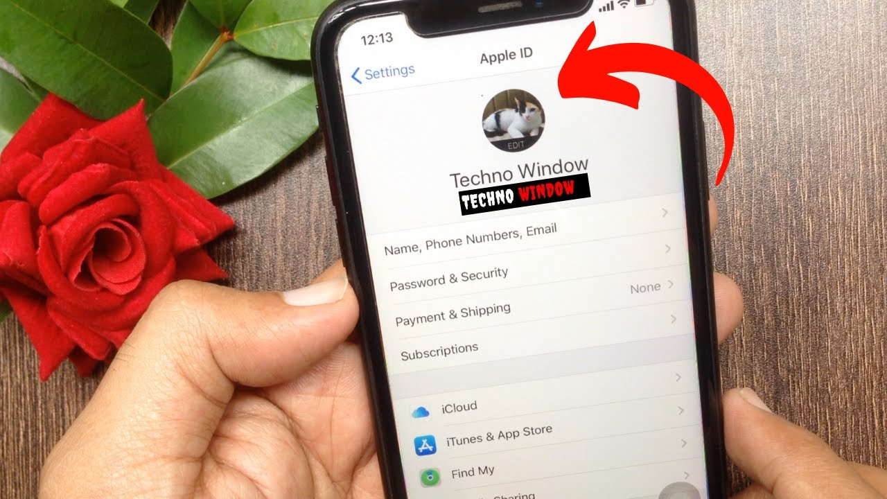 How to Setup Apple ID Profile Picture on iPhone