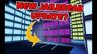 Roblox - COULD THIS BE A CLUE TO THE NEW UPDATE! - Jailbreak
