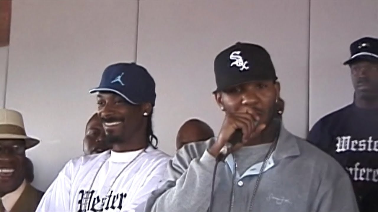 Spider Loc Ambushes The Game & Snoop At West Coast Peace Conference