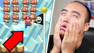 IL M'A PIÉGÉ JUSTE À LA FIN ! | Super Mario Maker