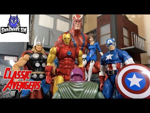 Classic Avengers vs Kang the Conqueror  (Avengers Origin Story)[ Stop Motion Film]