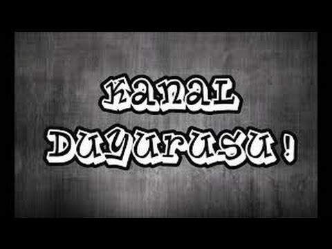 KANAL DUYURUSU-Herkeze Intro Yapilir