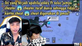 Vokey dan soloz jumpa cheater another level di sanhok 😱 ini ke cheat yang digunakan qualify pmco tu?