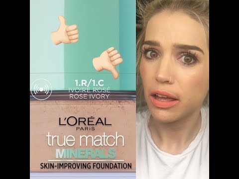 L'Oréal 'True Match Mineral' Foundation Review 🤬 So Disappointed