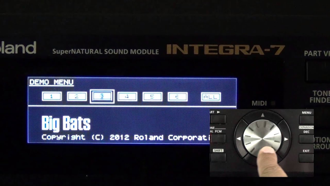 roland integra 7 playing the demo songs youtube. Black Bedroom Furniture Sets. Home Design Ideas