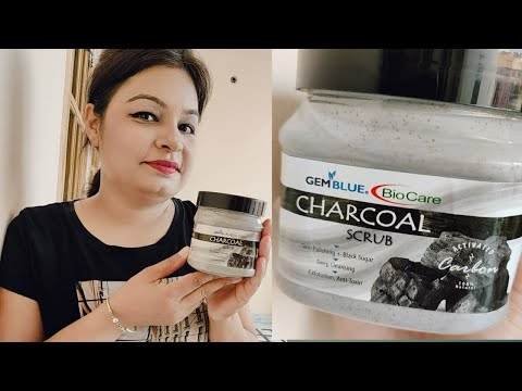 BIOCARE CHARCOAL SCRUB//CHARCOAL FACE SCRUB//HONEST REVIEW O