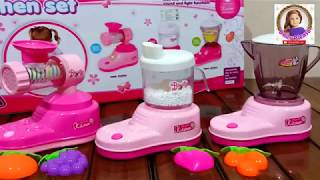 toy- Mini Home Appliances Kitchen Cooking Toys With Light Sound Effect For Kids