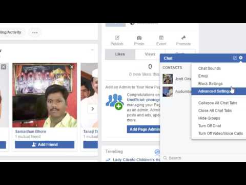 How To Hide Chat Window In Facebook