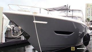 2019 Viking 93 MY Luxury Yacht - Deck and Interior Walkaround - 2018 Fort Lauderdale Boat Show