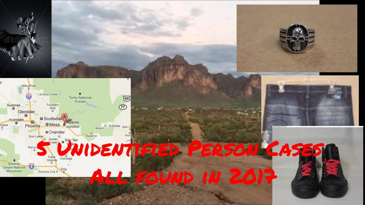 5 Unidentified Person Cases   All Remains Found in 2017