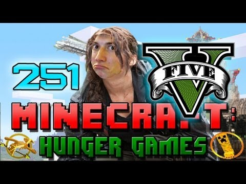 GTA 5 SPECIAL Minecraft: Hunger Games w/Mitch! Game 251 - San Andreas - Grand Theft Auto Theme!