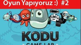 Kodu - basit oyun yapma programı | kendi oyununu yap #2
