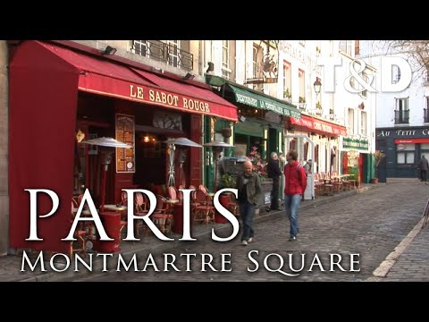 Paris City Guide: Montmartre Square - Travel & Discover